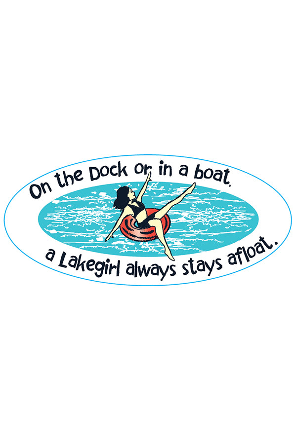 On The Dock Sticker