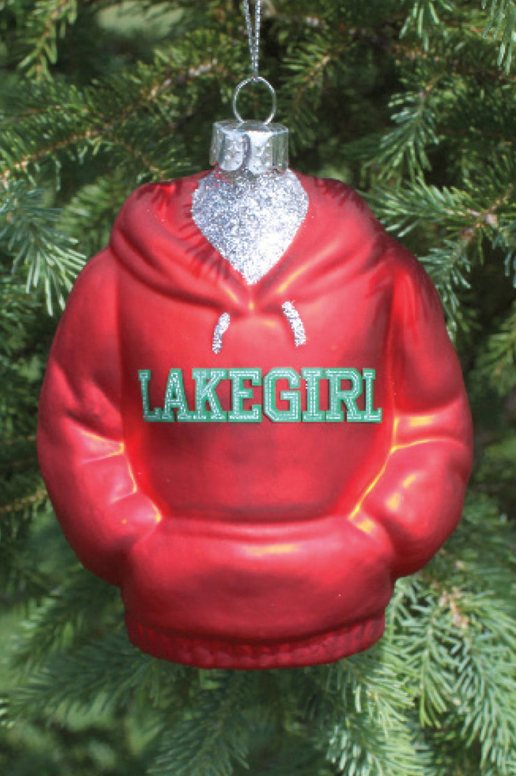 Lakegirl Glass Ornament