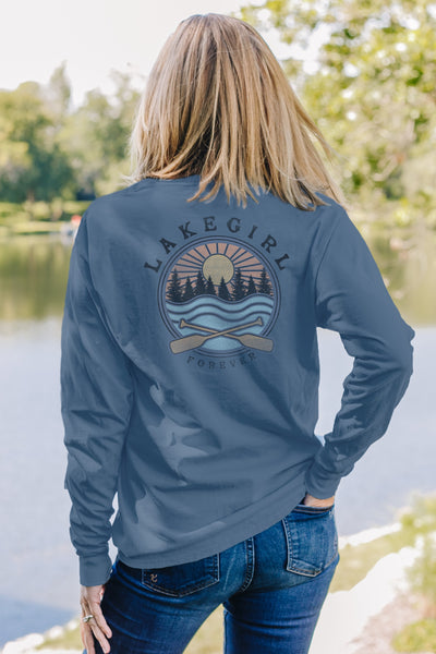 Shelby Paddles Long Sleeve Shadow Tee
