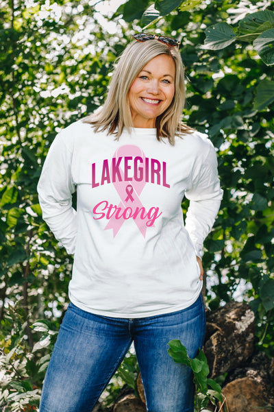Lakegirl Strong Long Sleeve Tee