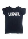 Lakegirl Toddler Simply Lakegirl Tee Navy