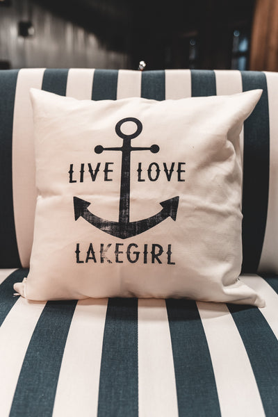 Live Love Lakegirl Pillow Case
