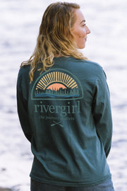 Ringspun Rivergirl Sunset Tee