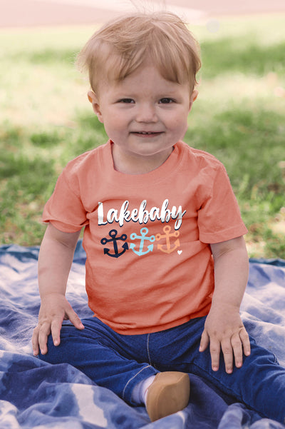 Lakebaby Juner Anchors Tee