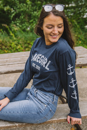 Big Deposit Anchor Long Sleeve Tee