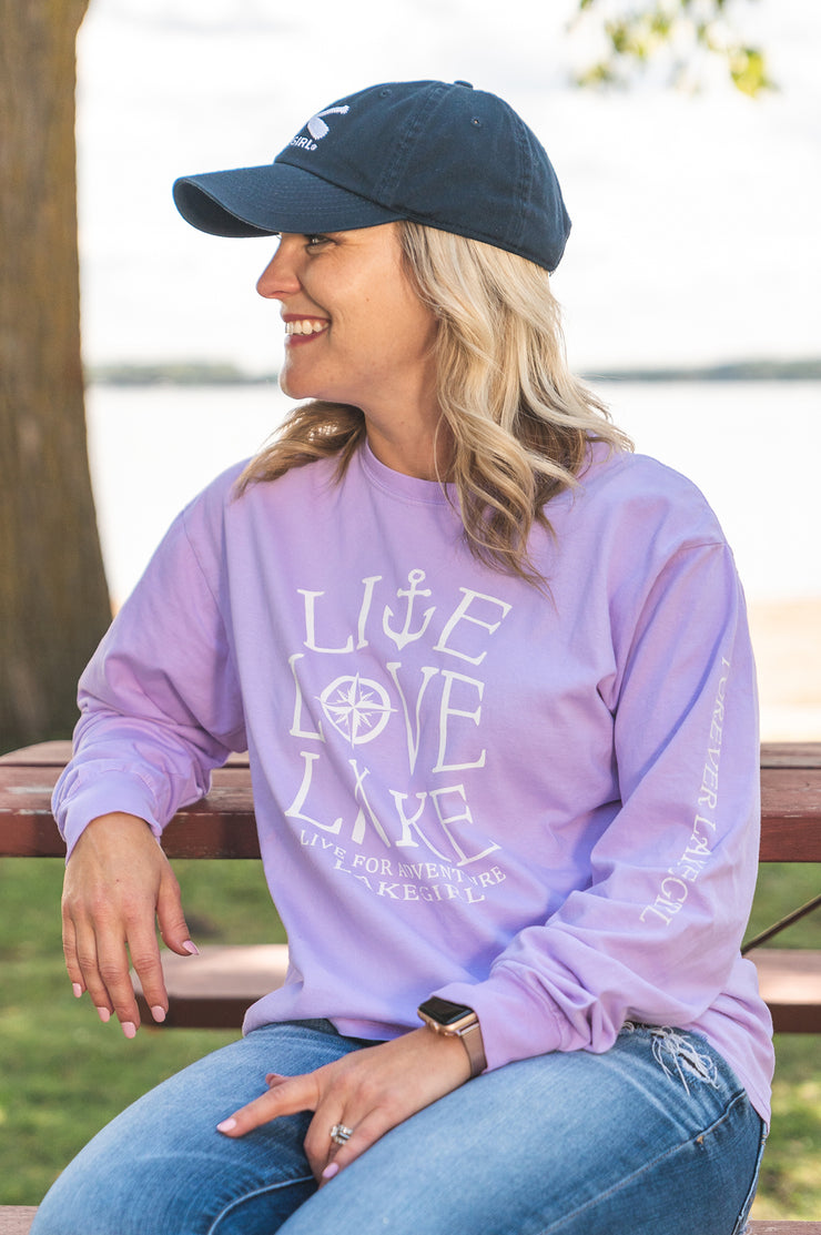 Live Love Lake Long Sleeve Tee