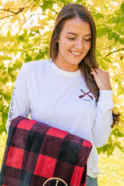Plaid Paddles Long Sleeve Tee