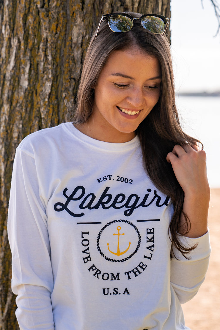 Jerrod Anchor Long Sleeve Tee
