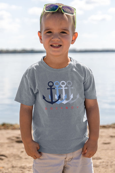 Dockboy Toddler Anchors Tee