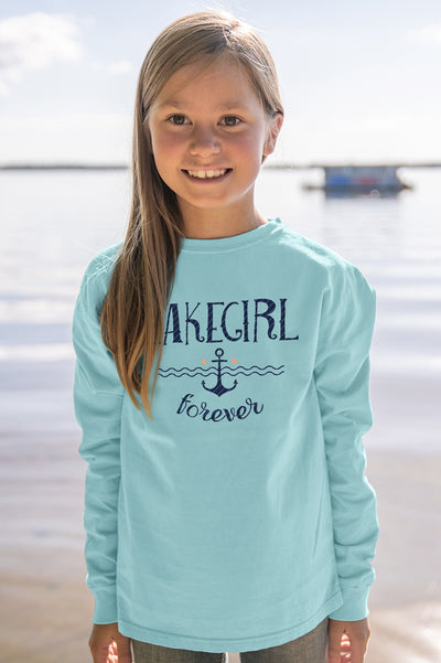 Youth Rosaline Anchor Long Sleeve Tee