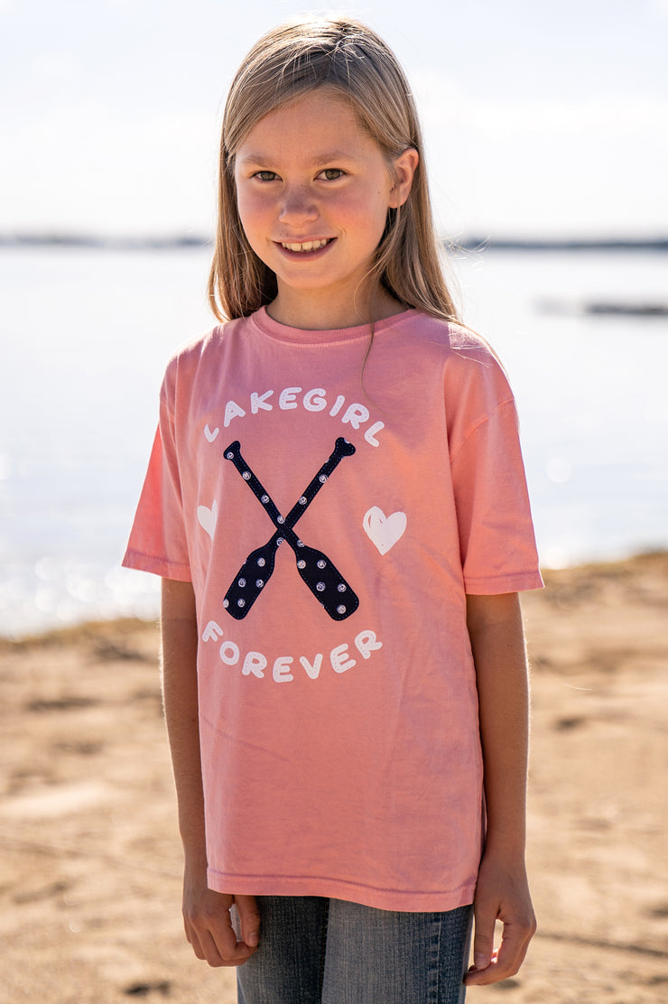 Youth Hearts & Paddles Tee