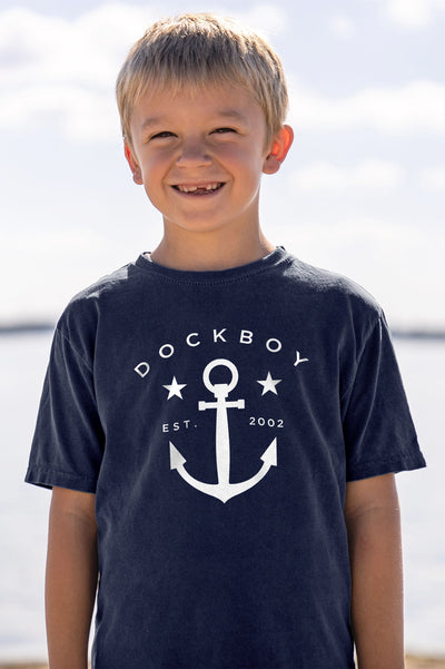 Dockboy Youth Dawner Anchor Tee