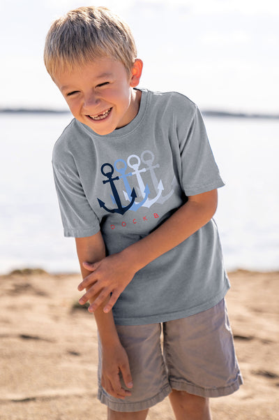 Dockboy Youth Anchors Tee