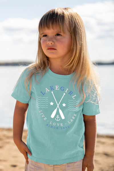 Toddler Live Love Lake Tee