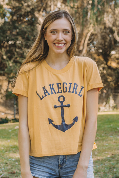 Rolled Sleeve Anchor Tee