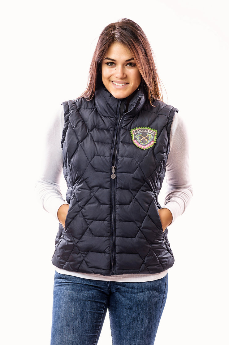 Lakegirl Down Winter Vest