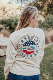 Ringspun Stars and Stripes Long Sleeve Tee