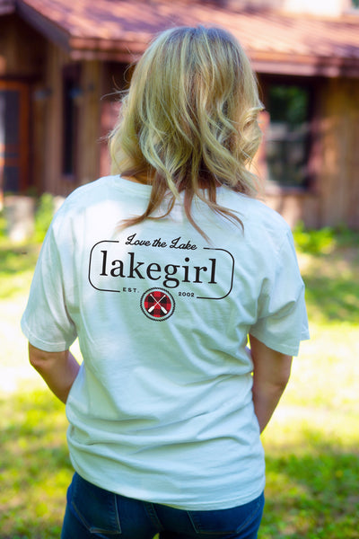 Love the Lake Plaid Paddles Tee