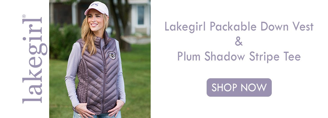 Lakegirl Packable Down Vest