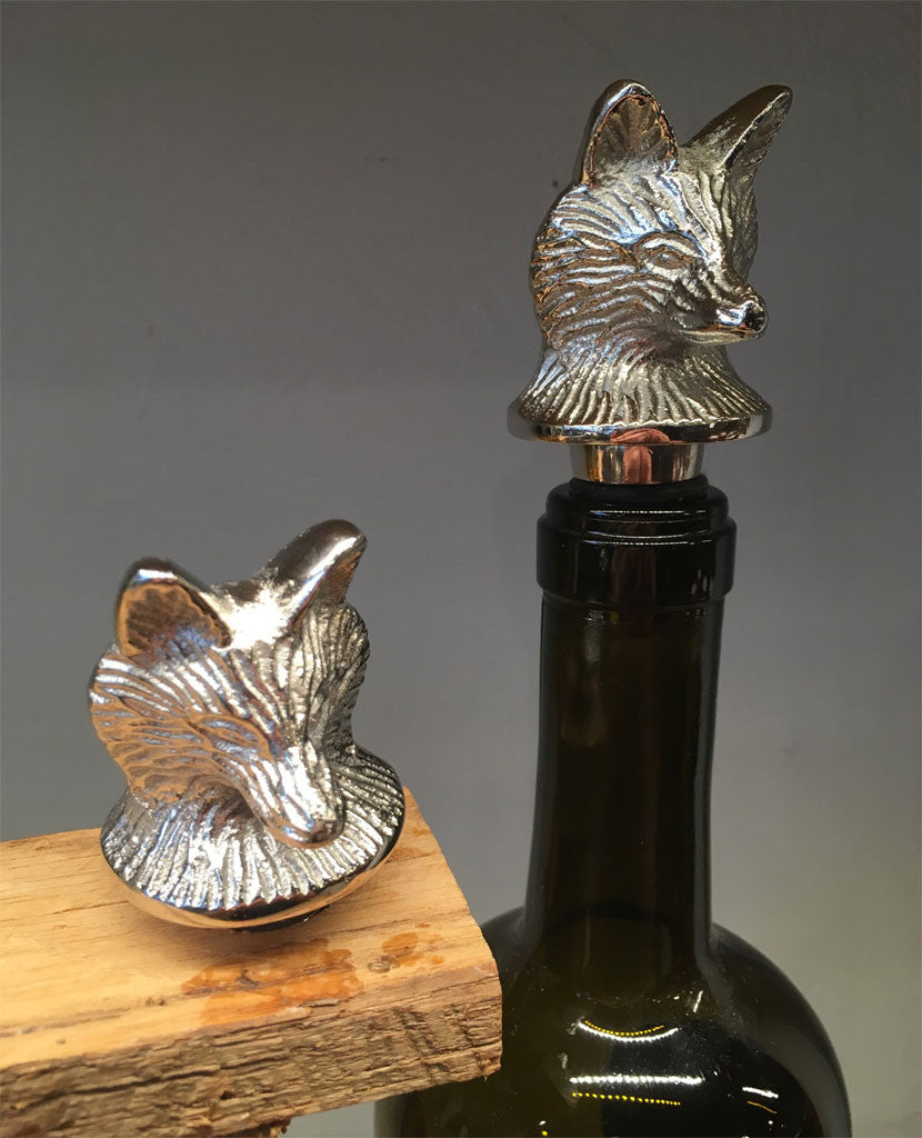 Fox Wine Stopper
