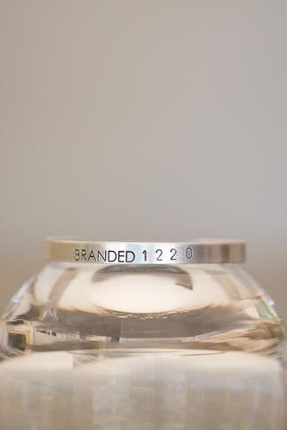 Branded Collective Tiny Aluminum Cuff
