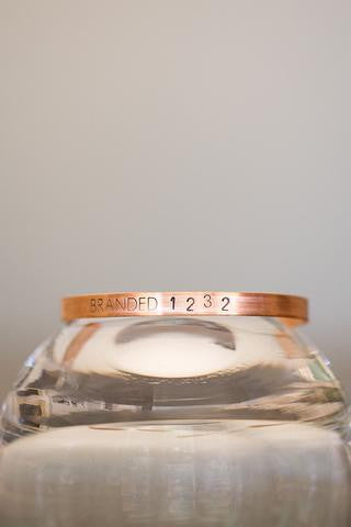 Branded Collective Copper Tiny Cuff