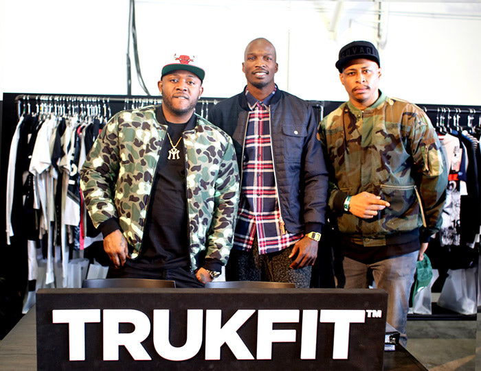Chad Ocho Cinco Johnson at Trukfit Booth