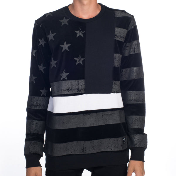 BLACK FLAG CREWNECK SWEATSHIRT
