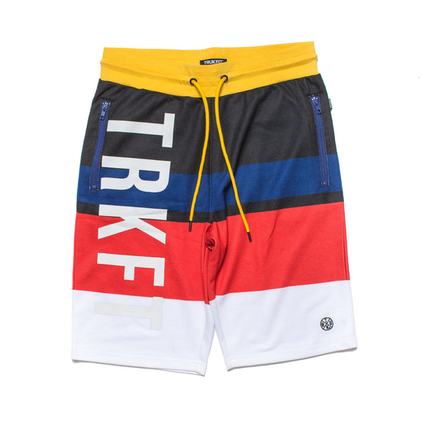 TRUKFIT SHORTS - TRACK & FIELD STRIPES
