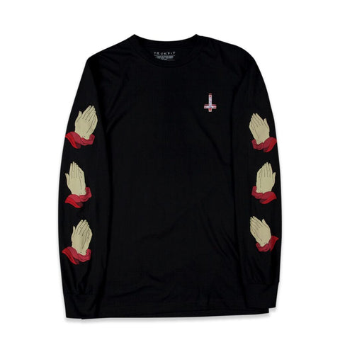 JESUS SAVES L/S TEE