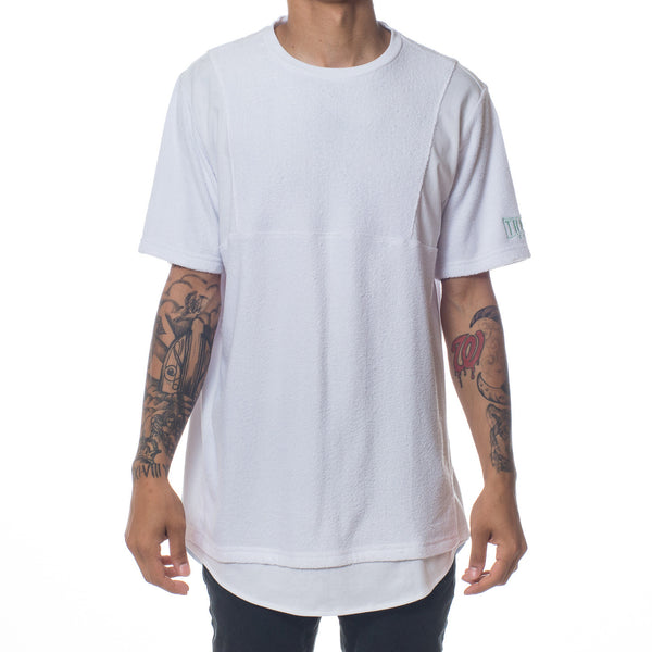 TERRY CLOTH CUT & SEW SHIRT
