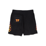 UP IN FLAMES RACK SHORTS