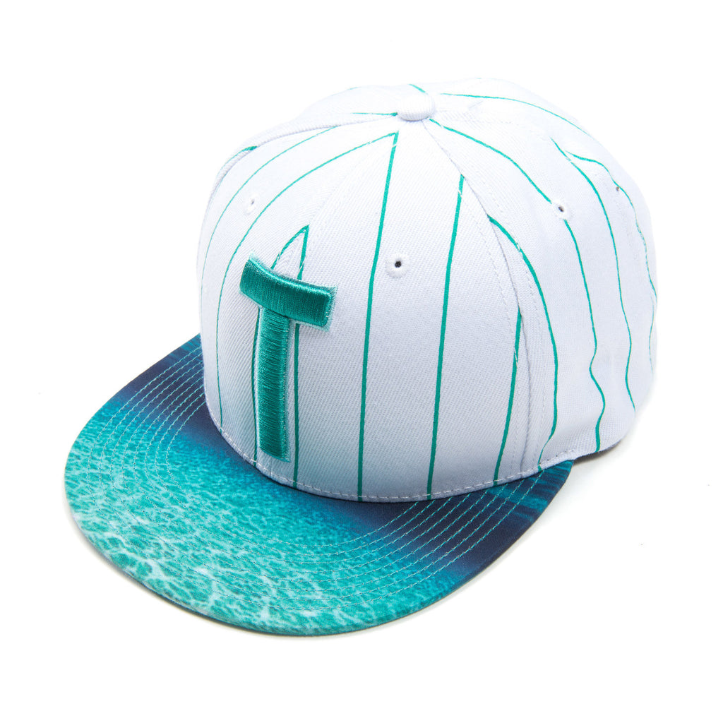 WAVY STRIPES BASEBALL SNAPBACK