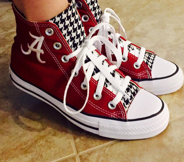 Customized Converse Sneakers- Bama Special Edition
