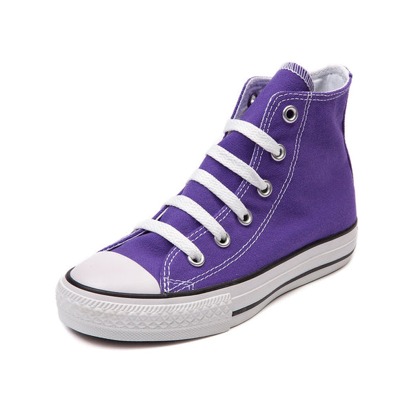Monogram Converse Sneakers- Purple (Youth)