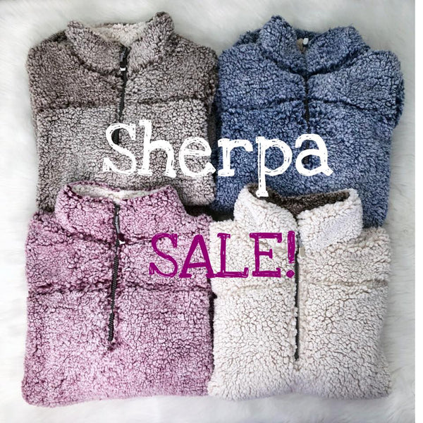 Sherpa Pullover- Winter Edition