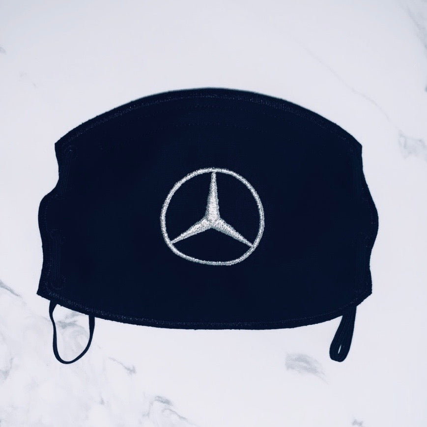 Adult Face Mask- Mercedes Benz