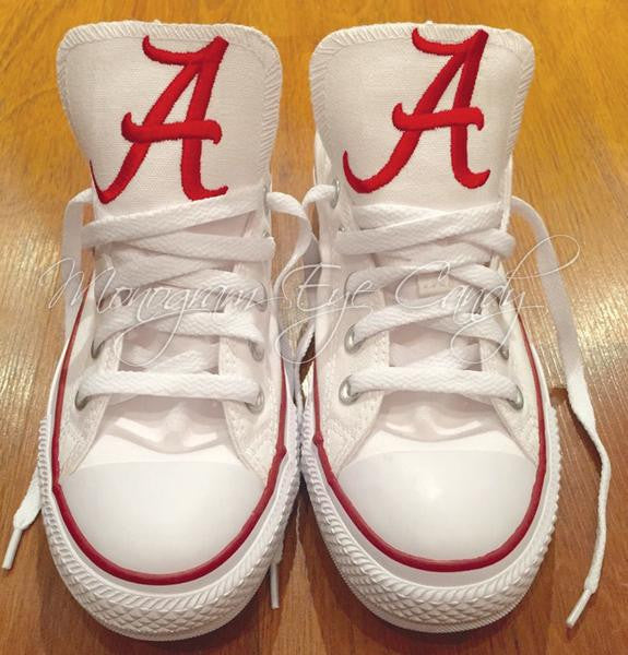 Customized Converse Sneakers- Alabama Edition