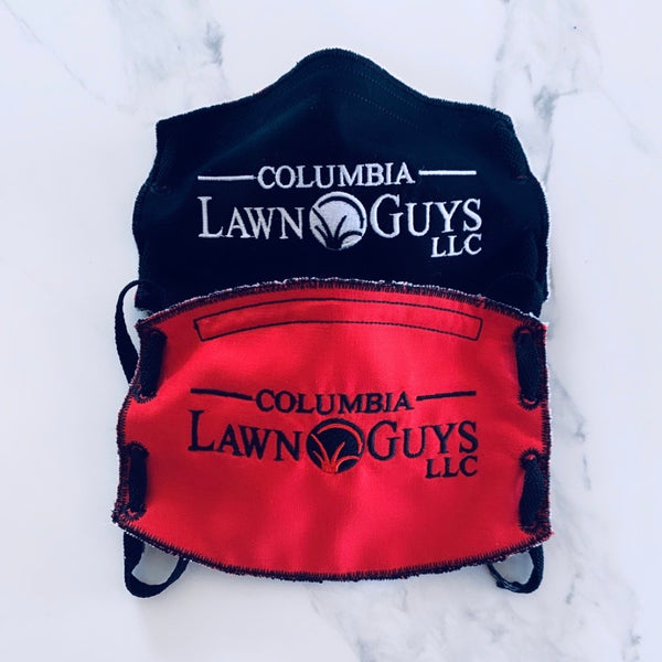 Adult Face Mask- Columbia Lawn Guys