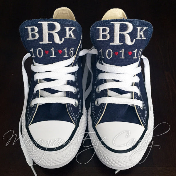 Bridal Converse Sneakers