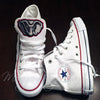 Customized Converse Sneakers- Bama Edition (Elephant)