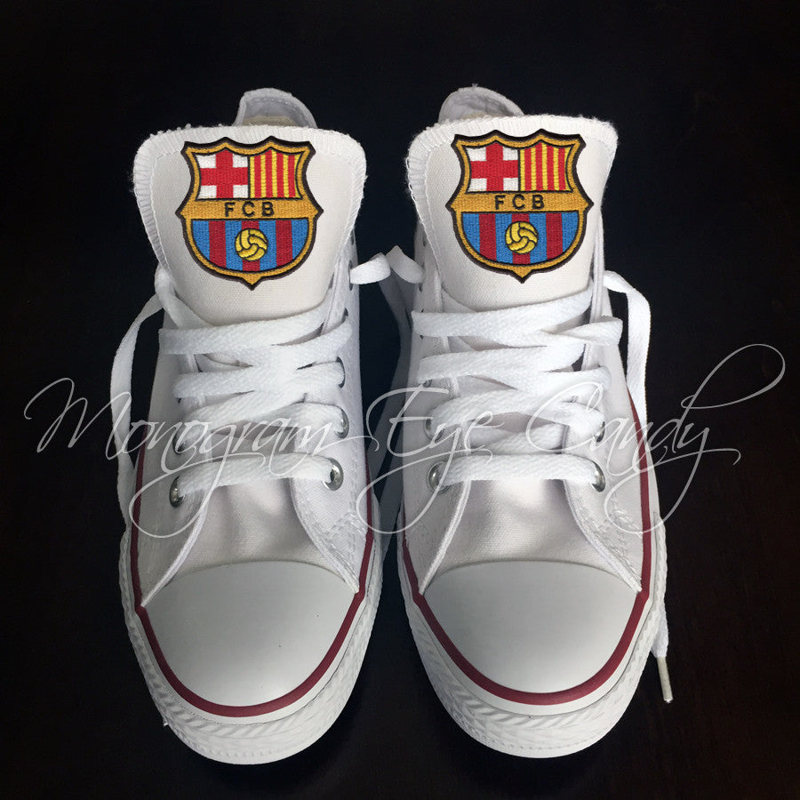Customized Converse Sneakers-FC Barcelona Edition