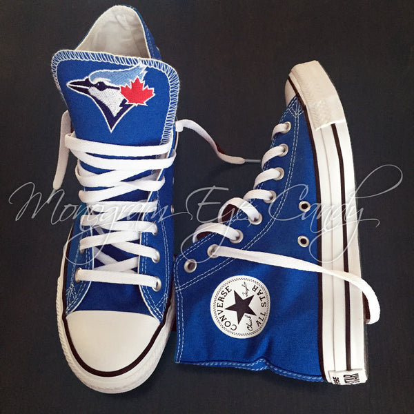Converse Sneakers- Blue Jays Edition (Youth)