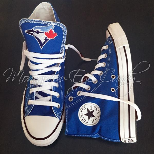 Converse Sneakers- Blue Jays Edition