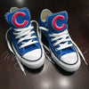 Customized Converse Sneakers- Cubs Edition