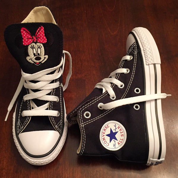 Monogram Toddler Converse Sneakers-Minnie Edition