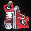 Customized Converse Sneakers- Georgia Bulldogs (Special Edition)