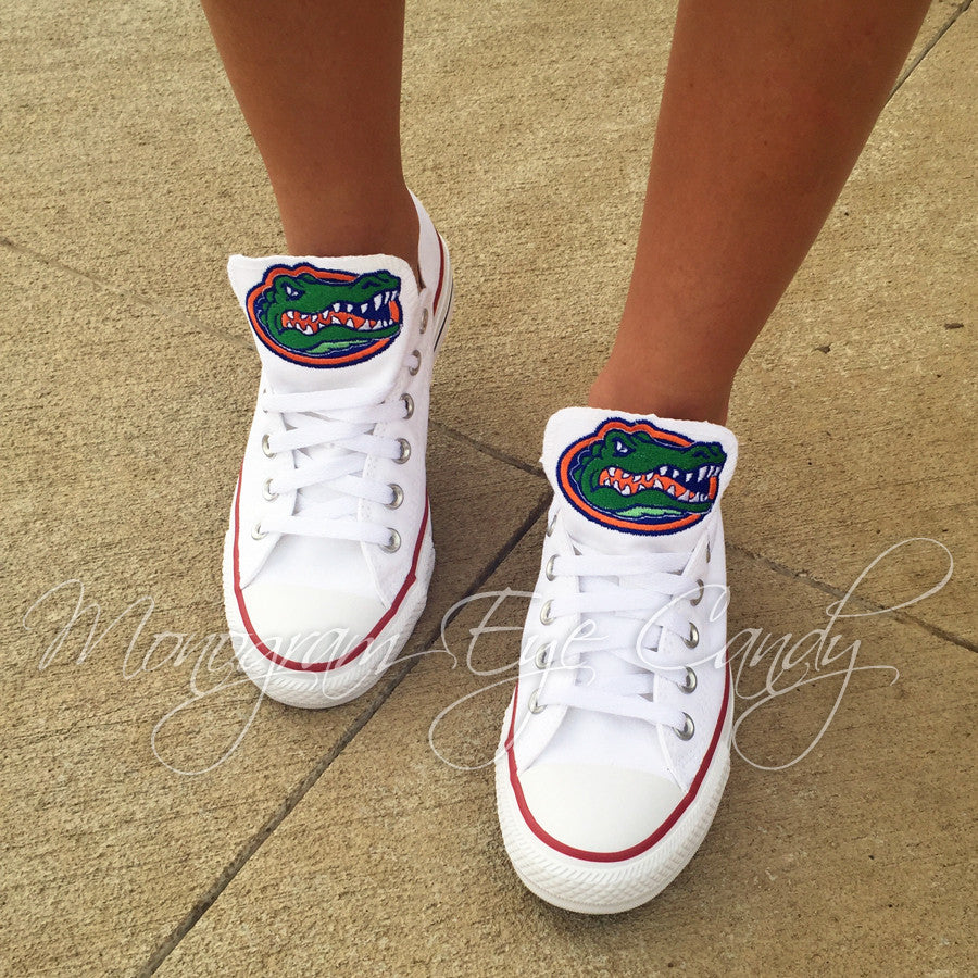 d0c39f1acf51 Customized Converse Sneakers- Florida Gators Edition – Monogram Eye Candy