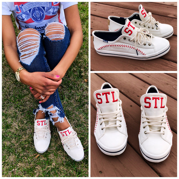 Customized Keds Baseball Sneakers