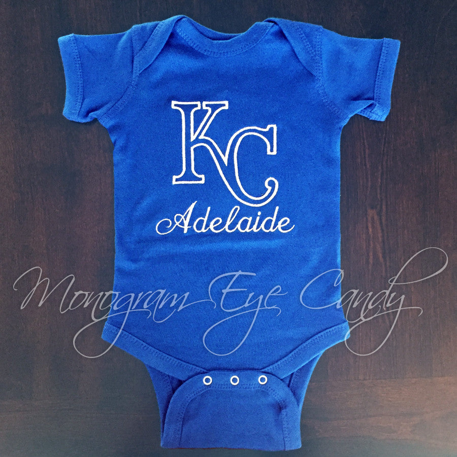 KC Onesie or Tee- Outline